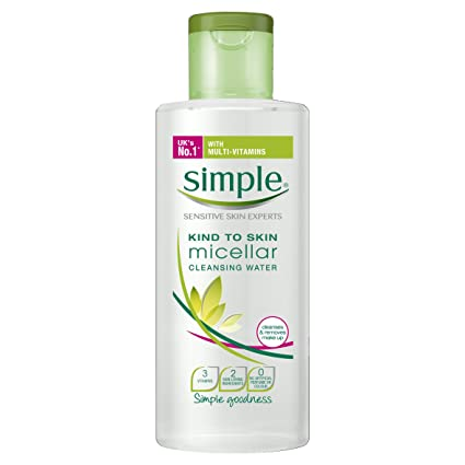 "Agua micelar desmaquillante""Kind to Skin"" de Simple, 200 ml, ..."
