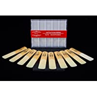 (Size: 3) - Glory Reeds Alto Saxophone Reed Size 3, Box of 10- Size 1.5, 2, 2.5, 3 Click for yours'choice