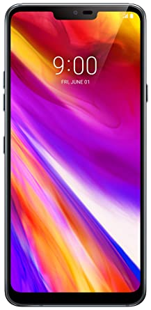 LG Electronics G7 ThinQ Factory Unlocked Phone - 6 1in Screen - 64GB -  Aurora Black (US Warranty) (Renewed)