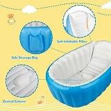 Baby Inflatable Bathtub, Large Capacity Mini