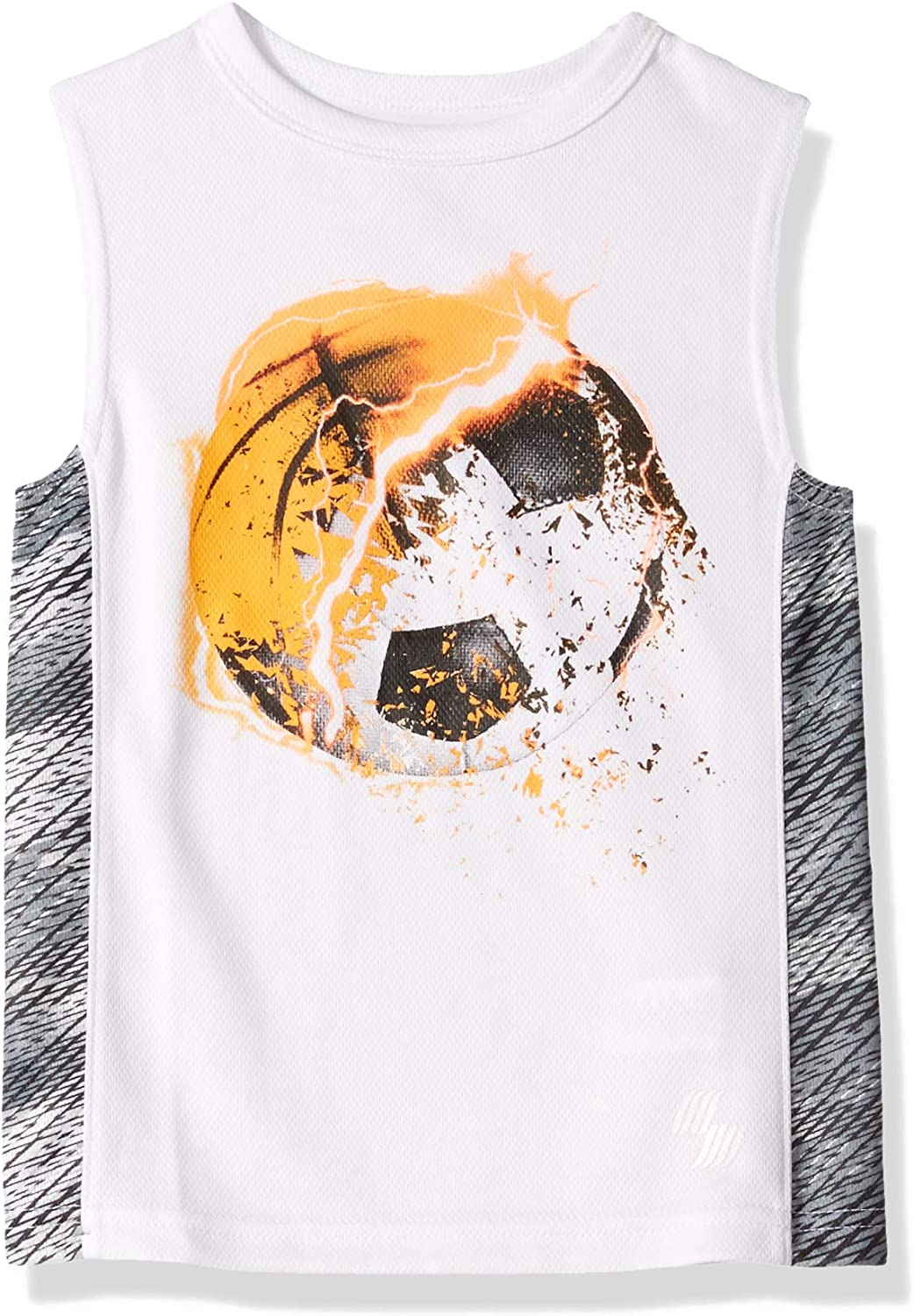 The Childrens Place Boys Sleeveless Graphic Active Tank Top
