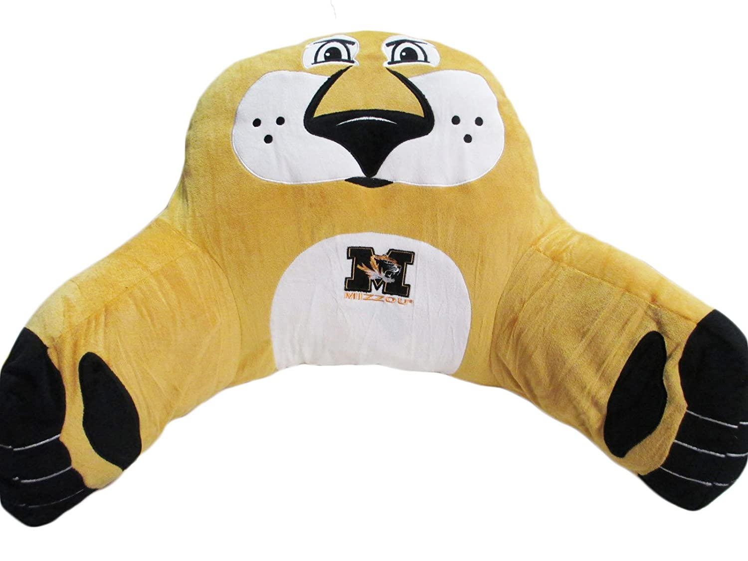 Mascot Wear NCAA Loungimal Bed Rest Pillow