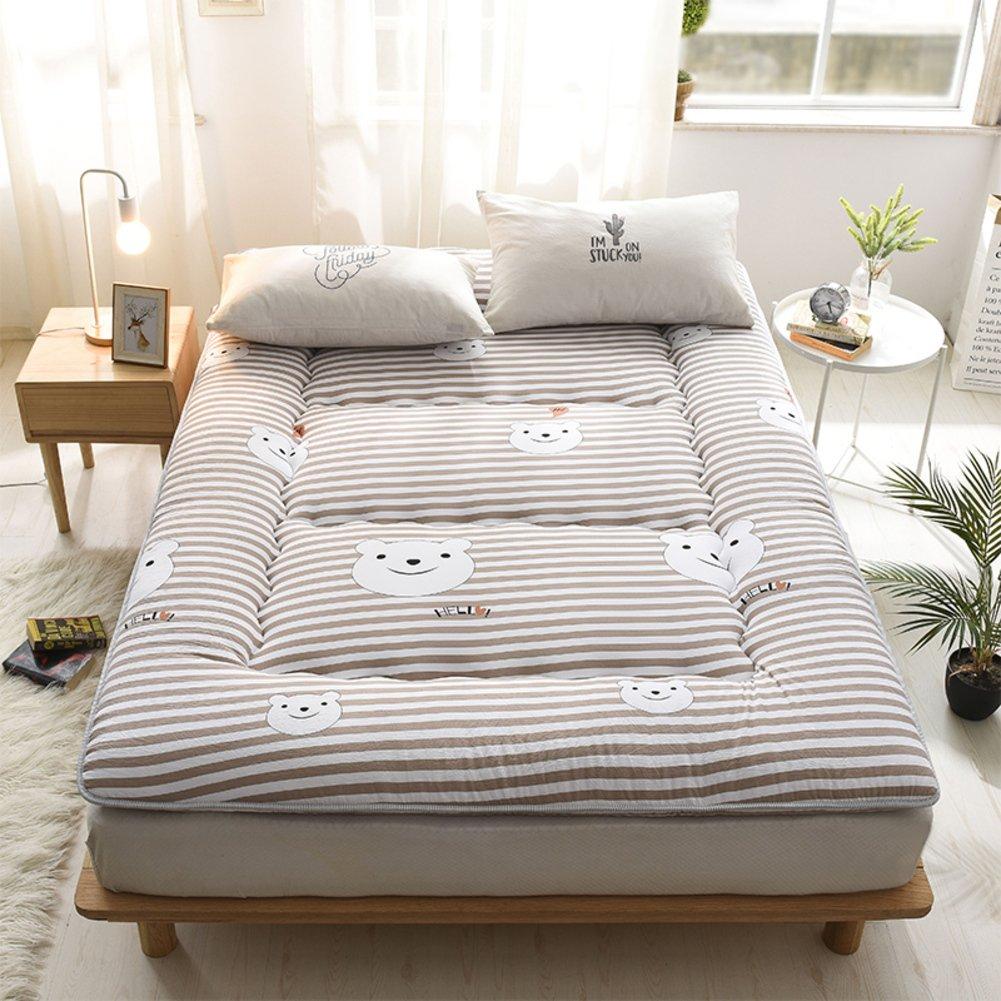 柔らかい通気性マットレス, 畳床, 布団 洗える 抗菌 防ダニ 両面使用可能です パッドを睡眠 -C 100x200cm(39x79inch) B07PJV81V2 C 100x200cm(39x79inch)