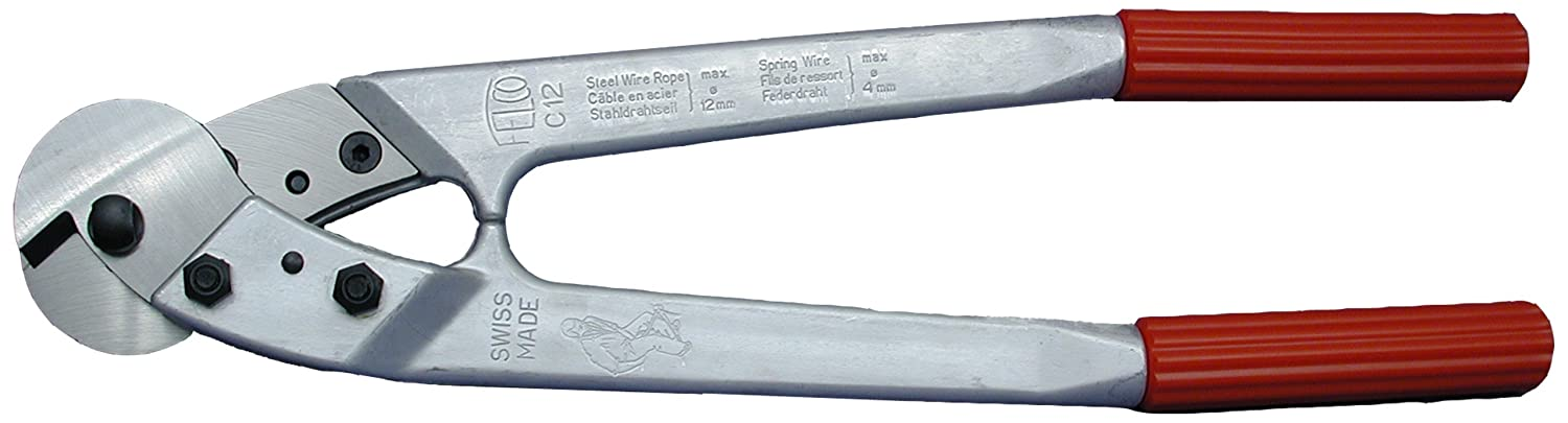 Loos Cableware C12 Felco Cable Cutter for Up To 3/8\