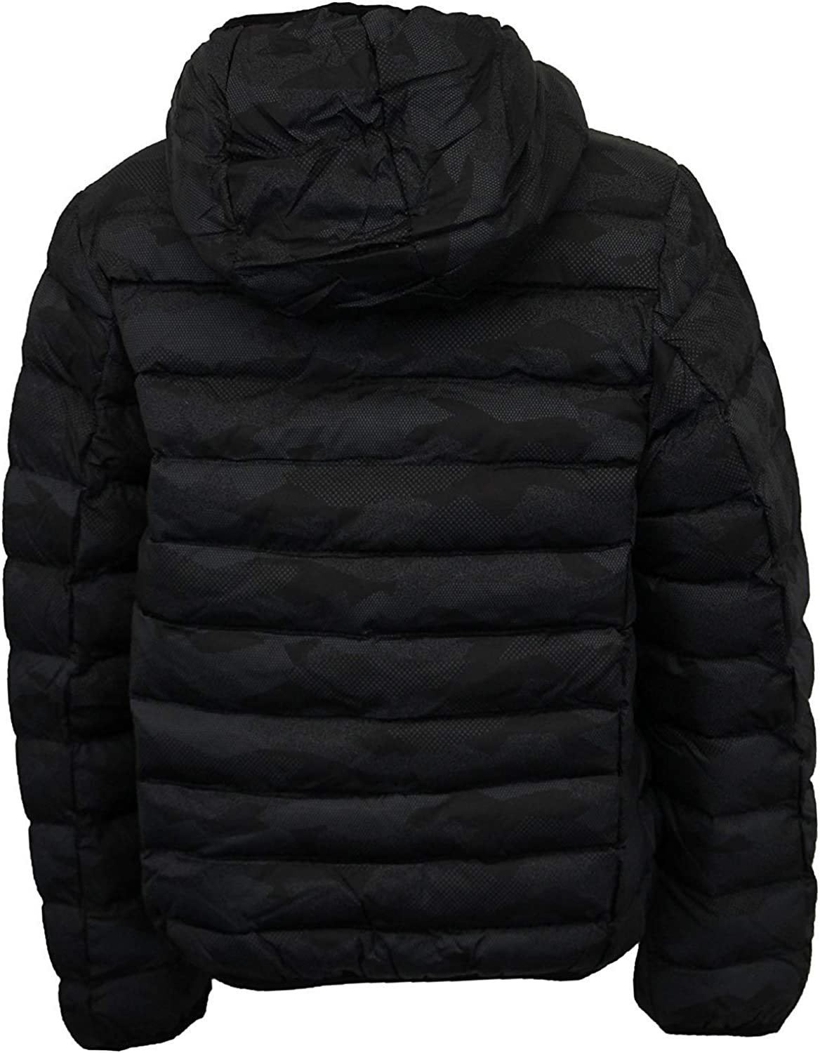 Ladies Long Parka Jacket Brave Soul Womens Coat Padded Bubble Hoodie Quilted New