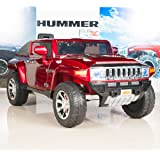 Hummer HX Kids Ride on Battery Powered Electric Car/Truck with Remote Control 12 Volt - Red