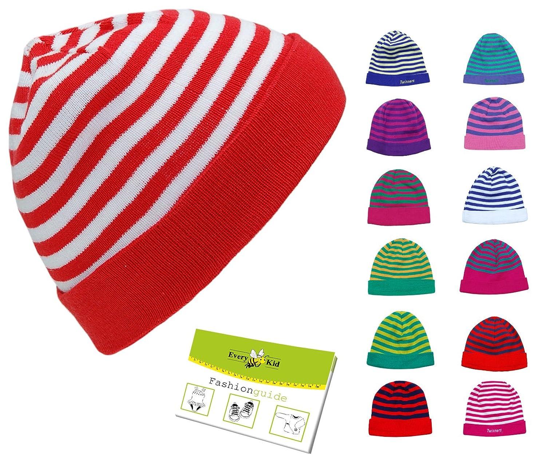 Strickmütze Beanie für Jungen (EK-10005) inkl. EveryKid-Fashionguide