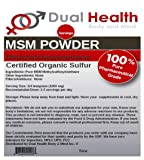 Pure MSM (Methylsulfonylmethane) Powder (2 lb) Bulk Supplements