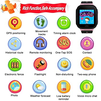 Reloj Inteligente para niños, Reloj Inteligente para niñas y ...