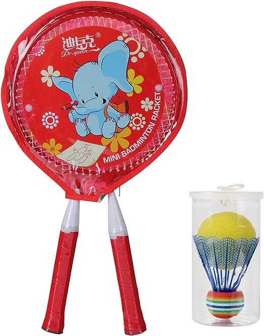 Amazon.com: decoq Mini conjunto para niños con 2 raquetas de ...