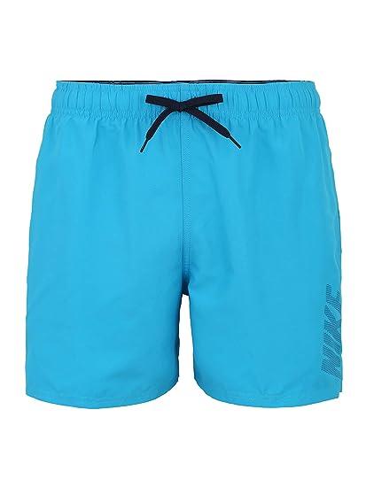 Herren Swim Nike Solid hellblau XL Sportbadehose Nike Logo nOm8wyPvN0