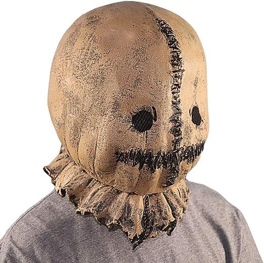 Máscara de espantapájaros Tocado de goma Divertida Máscara de ...