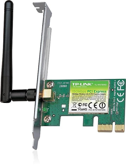 85 opinioni per TP-Link TL-WN781ND Adattatore PCI Express Wireless N, 150 Mbps, 1 Antenna