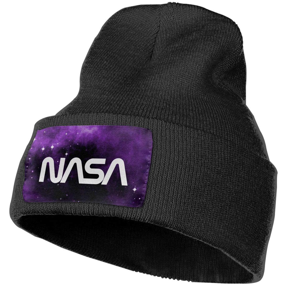 Retro Vintage NASA Winter Beanie Hat Knit Hat Cap for for Men /& Women