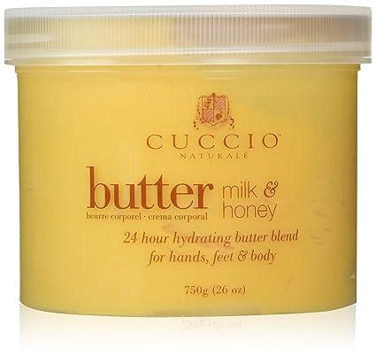 Cuccio Natural mezcla de mantequilla, leche y miel 750 G