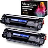 Sepeey Compatible Toner Cartridges Replacement for Canon 137 CRG137, Use with Canon ImageClass MF216n MF227dw MF236n MF249dw MF244dw MF247dw MF229dw MF232w MF212w D570 LPB151dw Printer, 2 Black
