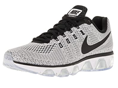 NIKE Mens Air Max Tailwind 8 Running Shoe White/Black 7.5 D(M)