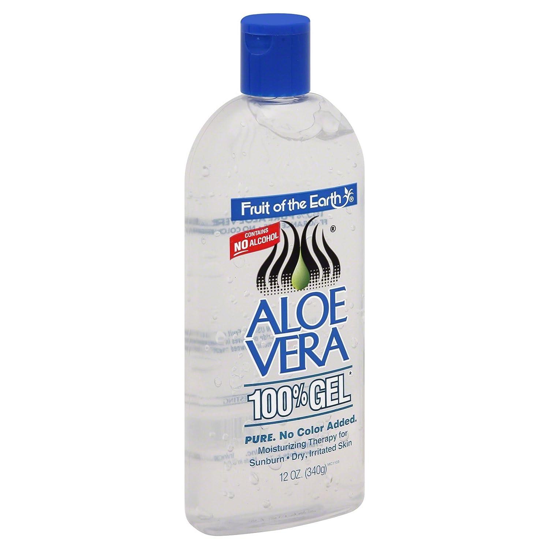 Fruit Of The Earth 100% Aloe Vera 12oz. Gel (6 Pack)