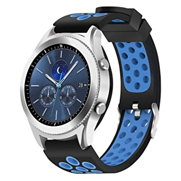 Hagibis pour Samsung Gear S3 Frontier/Samsung Gear S3 Classique/Montre Samsung Galaxy Montre