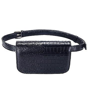 Amazon.com: Badiya - Mini bolsa de cintura para mujer, de ...