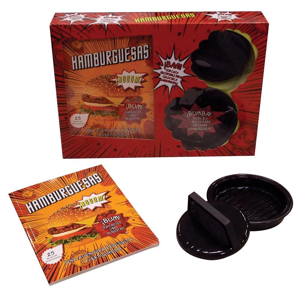 Hamburguesas con caja recortable para colocar la Hamburguesa (Spanish Edition): Parragon Books: 9781472330116: Amazon.com: Books