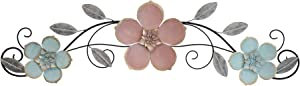 Stratton Home Decor Sydney Floral Over The Door Decor Wall Décor, Extra Large, Multi Color