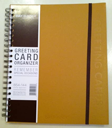 Amazon day runner greeting cards organizer personal day runner greeting cards organizer m4hsunfo