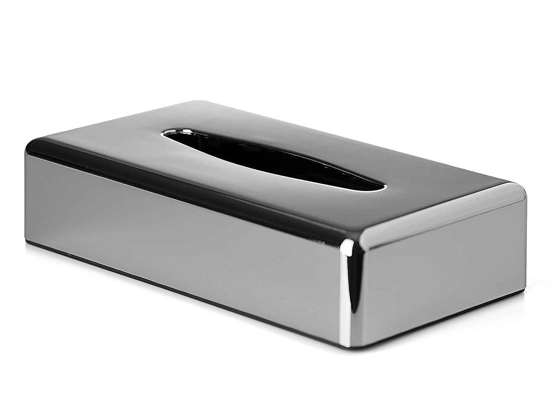 Box Tissue Dispenser | Oblong |Chrome Finish Mellcrest