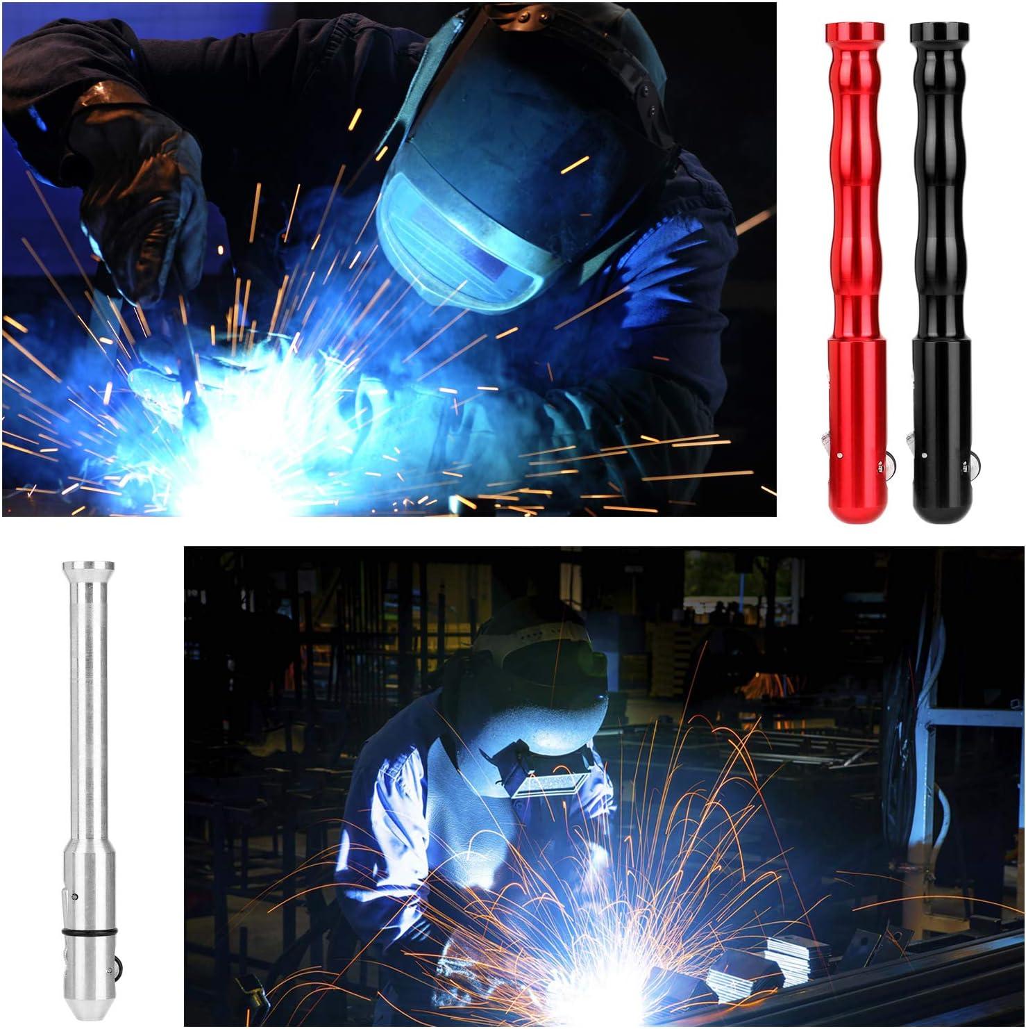 KKmoon Pluma de soldadura Tig Pen,Alimentador de dedo,Soporte de varilla,Pluma de alambre de relleno para cables de 1-3.2 mm