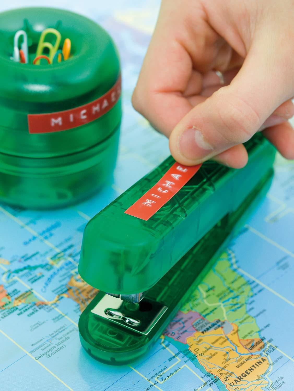 Dymo S0898160 - Cinta de gofrado, 9 mm x 3 m, color verde ...