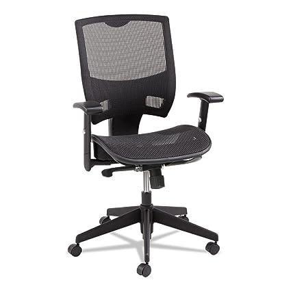 Ordinaire Amazon.com: Alera ALEEP4218 Epoch Series All Mesh Multifunction Mid Back  Chair, Black: Kitchen U0026 Dining