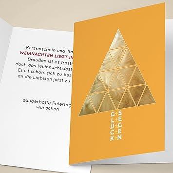 Firmen Weihnachtskarten Drucken.100er Set Elegante Unternehmen Weihnachtskarten Mit Designer
