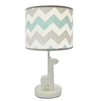 Uptown Giraffe Lamp Base And Shade By The Peanut Shell