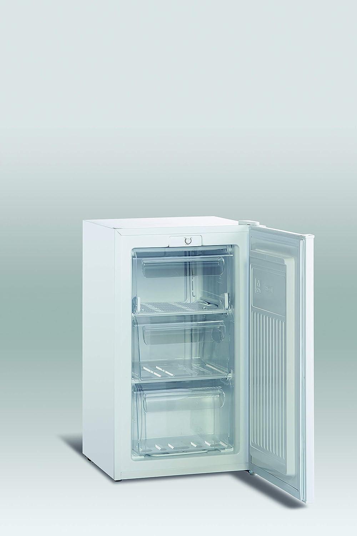 CONGELADOR VERTICAL SCANDOMESTIC SFS 109 Blanco (71 L, 85 cm, A+ ...