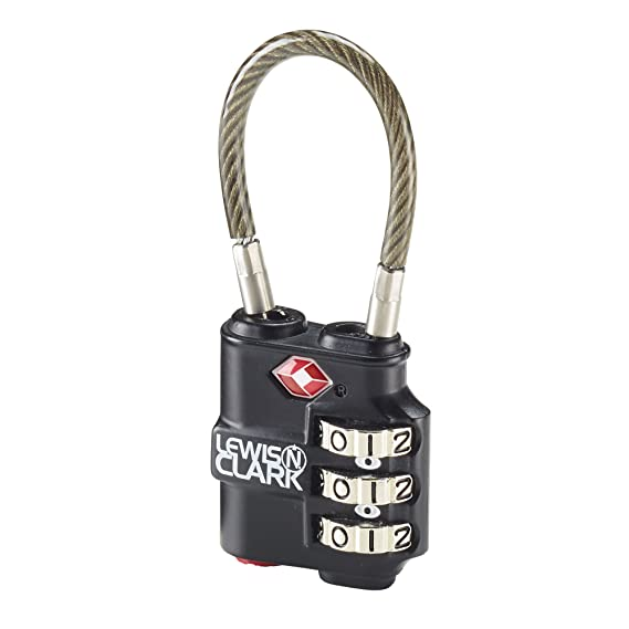 Clark Duty Dial Cable Heavy Indicator N Luggage 3 Lewis Travelsentry 5XqwPp0n