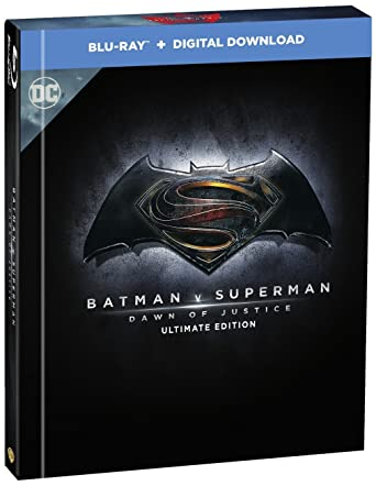 Batman V Superman Dawn Of Justice Ultimate Edition Filmbook Blu Ray