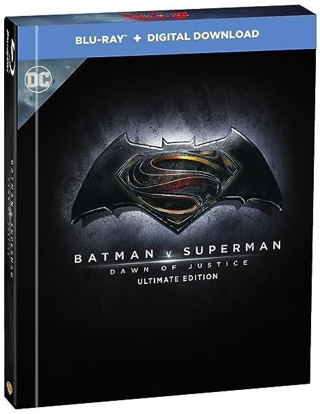Batman V Superman Ultimate Edition - Digibook Edizione: Regno Unito Reino Unido Blu-ray: Amazon.es: Cine y Series TV