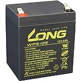 LONG 12V 5Ah 高性能シールドバッテリー【高耐久タイプ】(WP5-12E) WP5-12E