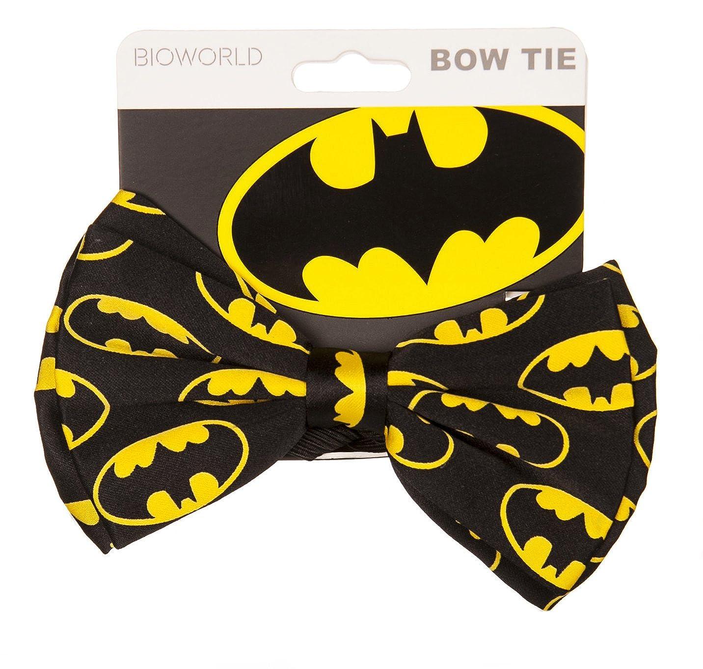 Corbata de moo clsico Logo DC Comics Batman: Amazon.es: Ropa y ...