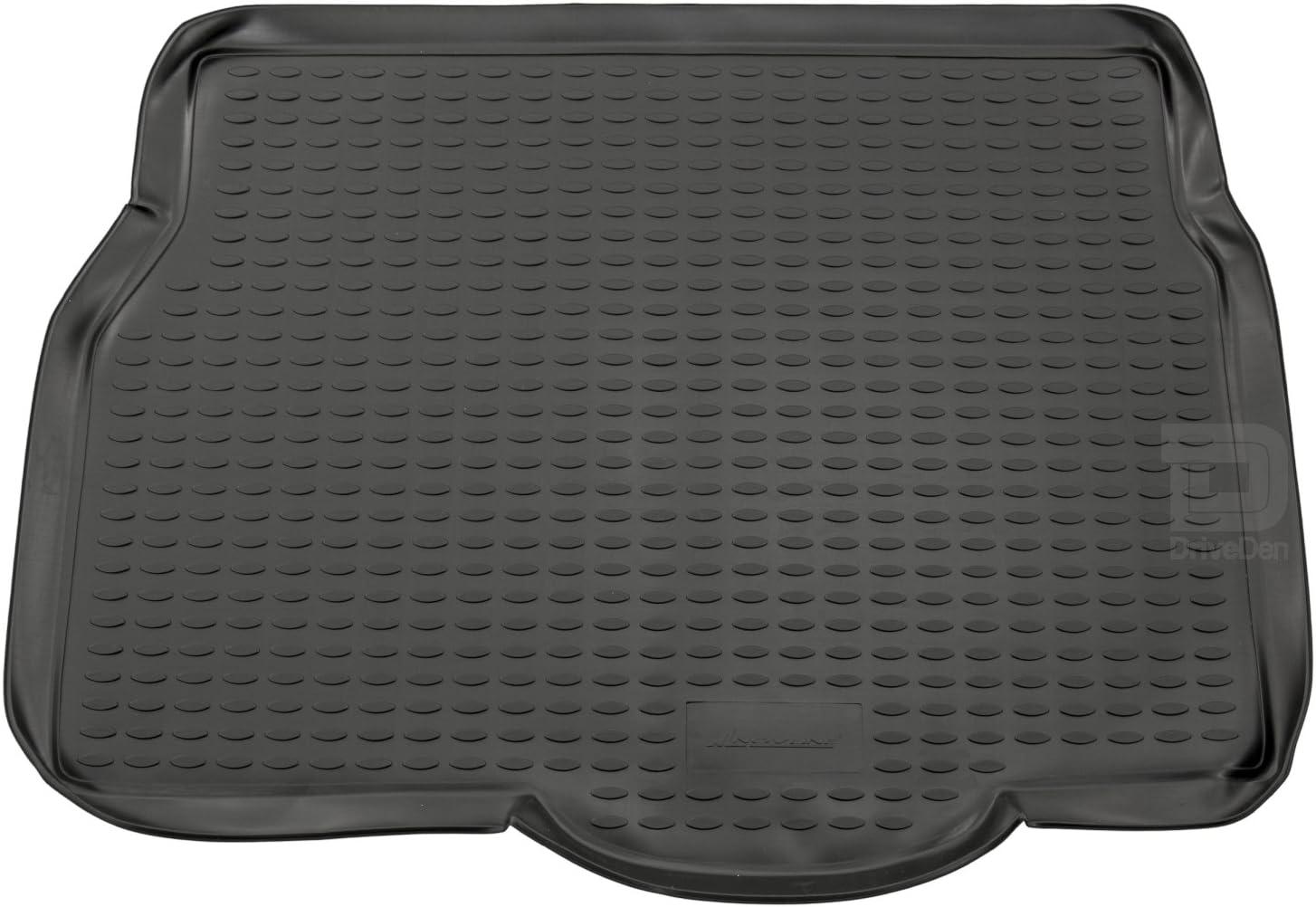Novline MAT193 Custom Tailored Fit Black Rubber Boot Liner Tray Mat