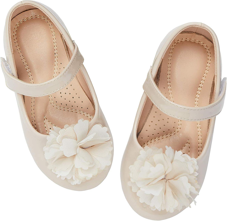 ADAMUMU Girls Princess Dress Shoes