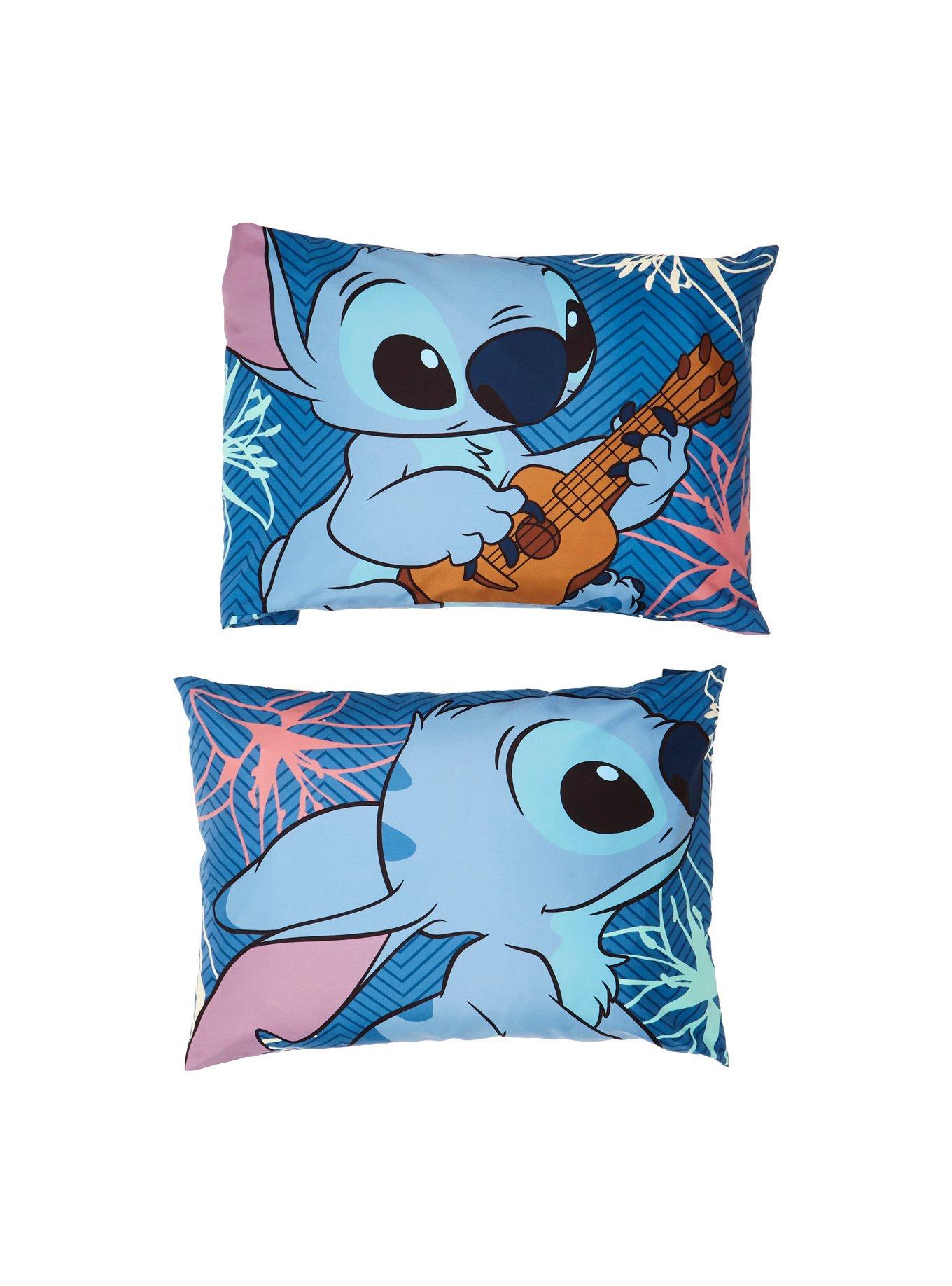 Disney Lilo & Stitch Ukulele Pillowcase Set