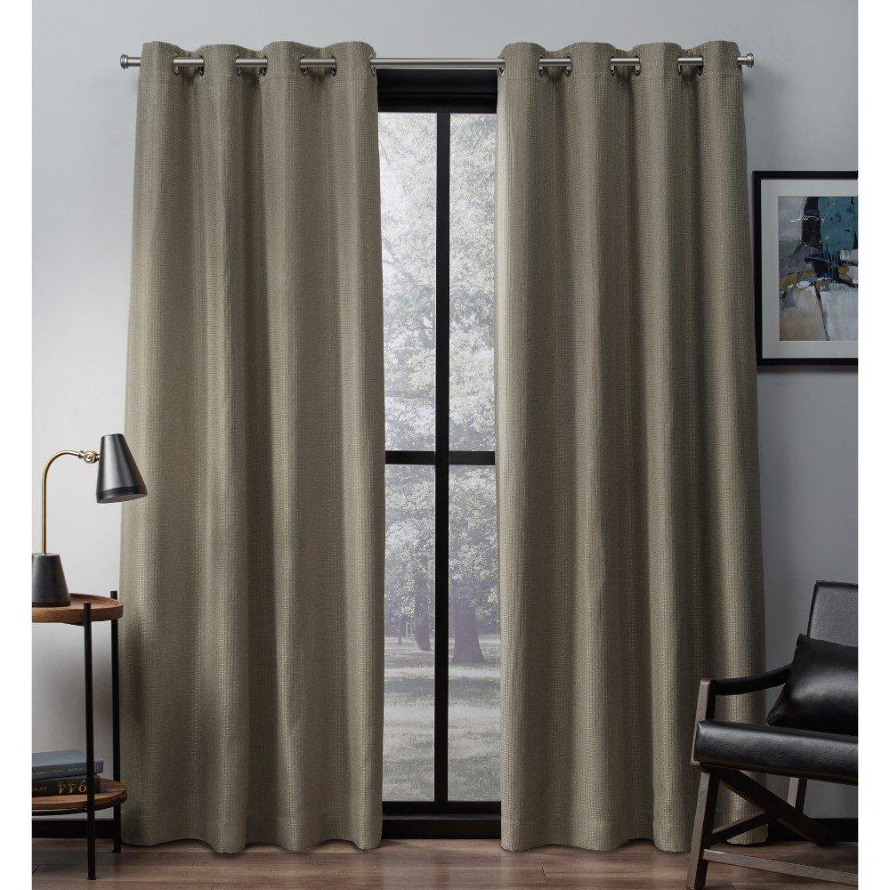 Exclusive Home eglinton mit schwarzout schwarzout schwarzout Spitze Tülle Fenster Vorhänge (2 Stück), natürliche, 56 cm x 274 cm, Polyester, blaugrün, 52x84 B01HHSUTSK Vorhnge e4a84b