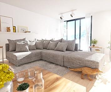 Delife Couch Clovis Modular Ecksofa Sofa Wohnlandschaft