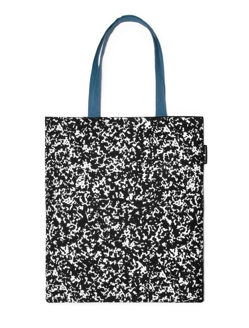 Out of Print Composition Notebook Tote Bag, 15 X 17 Inches by Out of Print (Image #2)