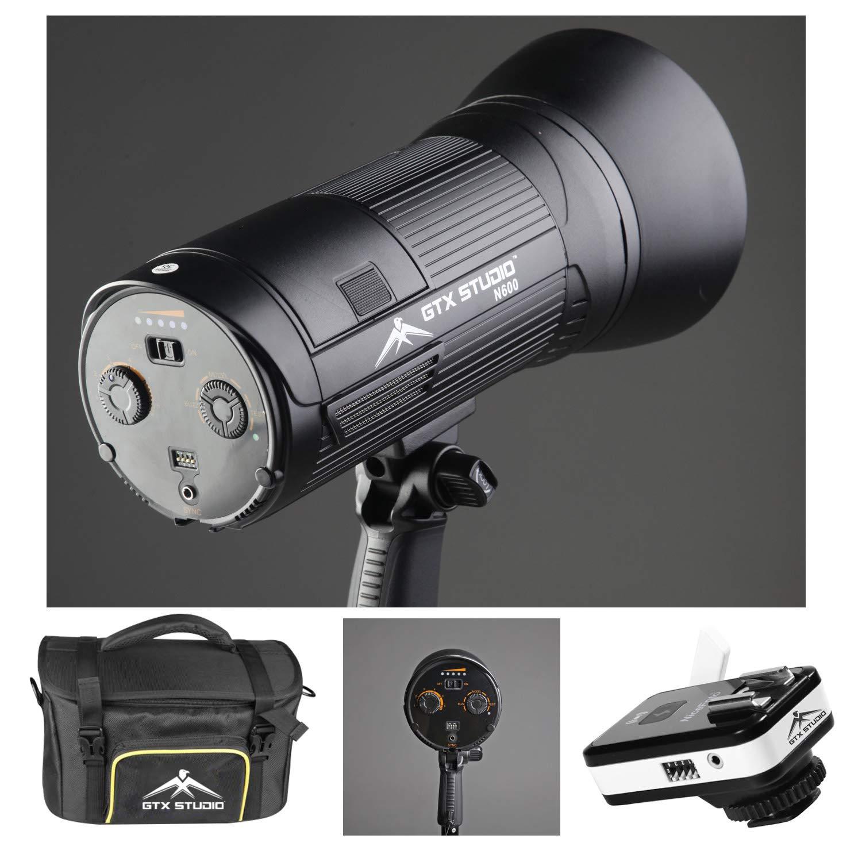 LED 600W Studio Flash Modeling Light Monolight Kit w/Bag Photo Studio Portable by Sunset Foto