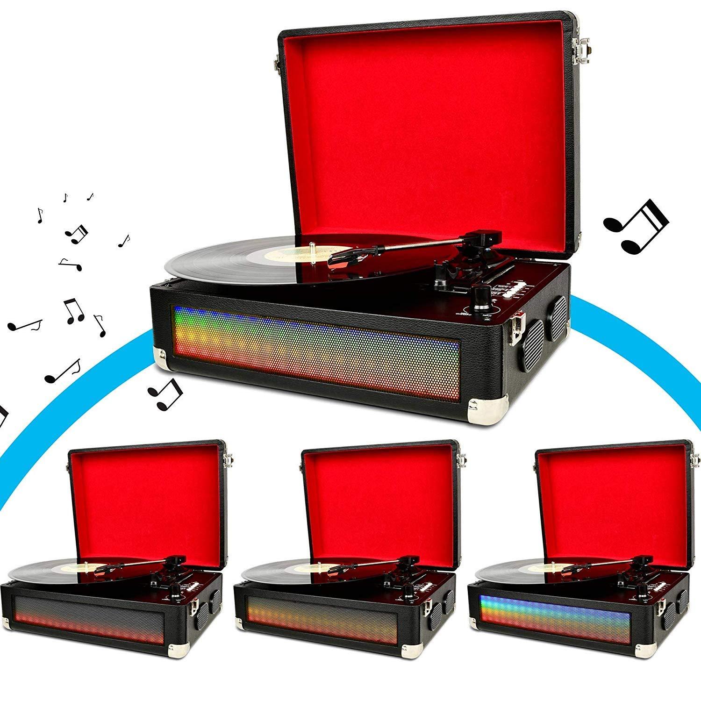 Amazon.com: Reproductor de grabación Bluetooth para ...