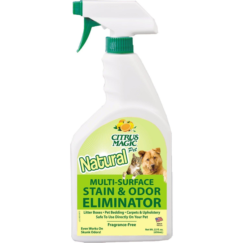 Citrus Magic Pet Odor Eliminator, 22-Ounce Spray 3-pack
