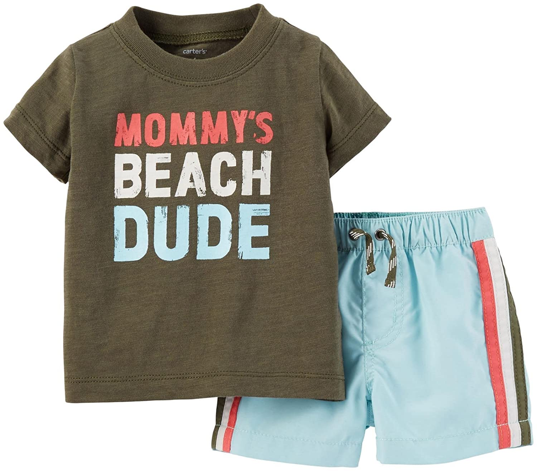 Carter's Baby Boys' 2 Piece Swim Set Carter's CA-56107