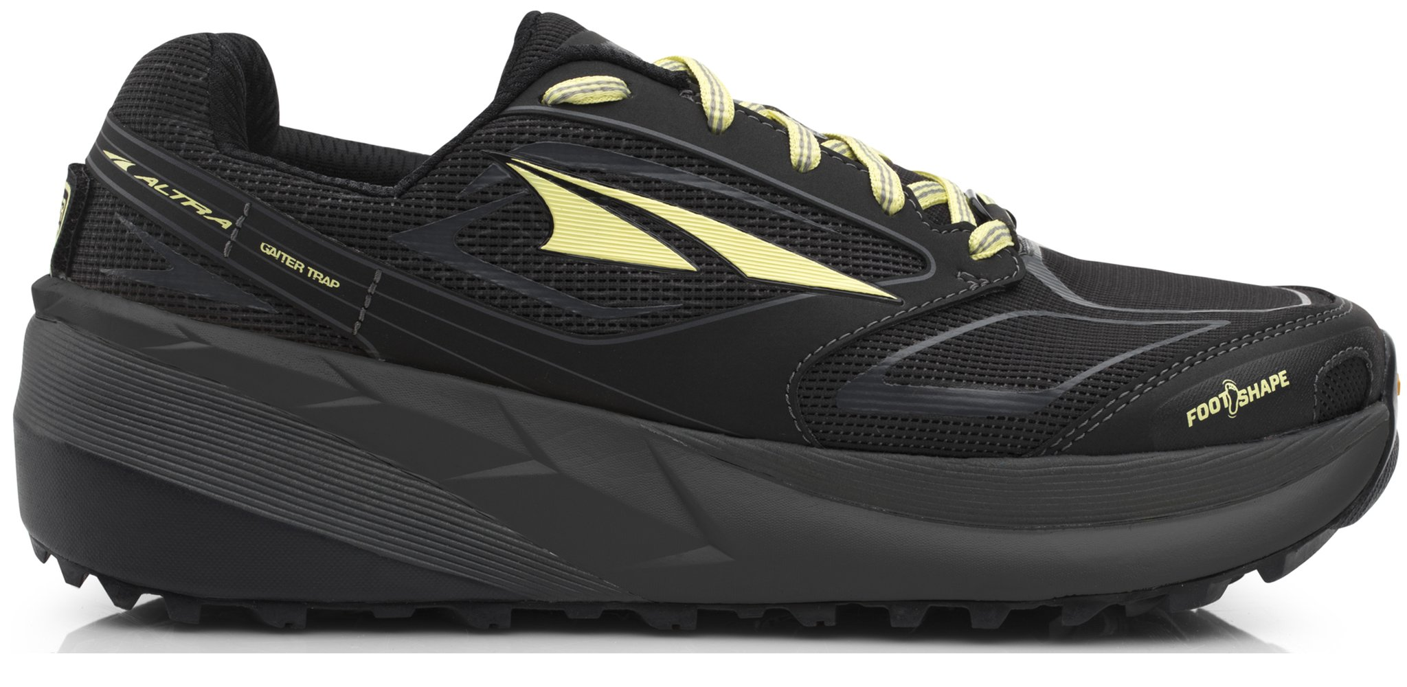 Altra AFW1859F Women's Olympus 3 Trail Running Shoe, Black - 5.5 B(M) US by Altra (Image #1)